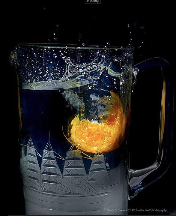 Splash or orange