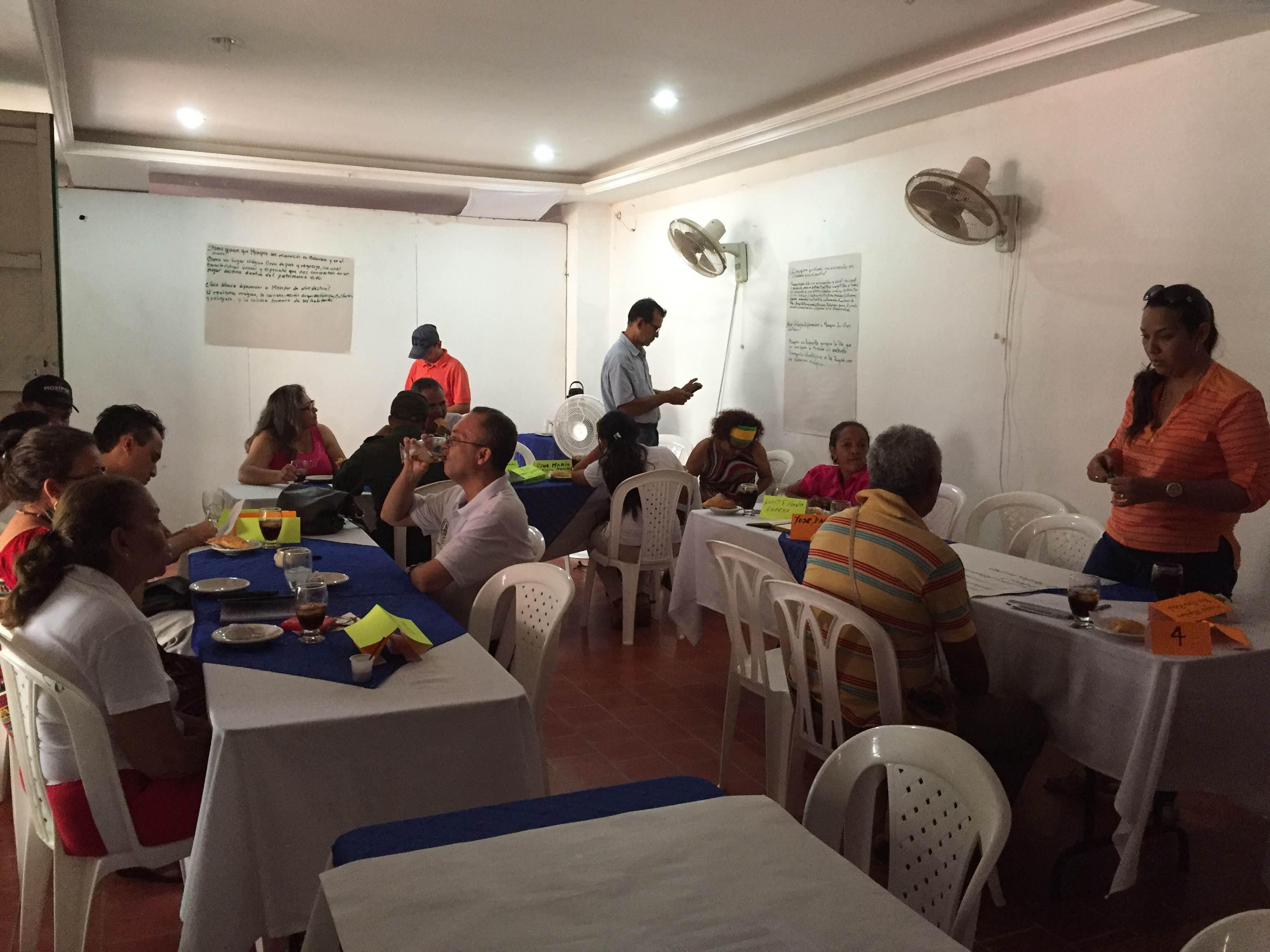 Taller comunidad Mompox