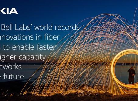 Record Mondial - cercetătorii de la Nokia Bell Labs transmit 1,52 Tbps pe o distanță de 80 km