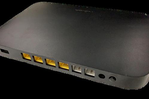 ONT 4 Ports Gbit, 2 Tel
