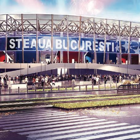 Stadion Steaua - Retea pe Fibra Optica Data-Voce, WiFi®, Broadcast