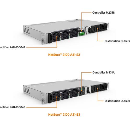 NetSure 2100 Series 48V DC Power System for Nokia  ISAM-FX4/8/16