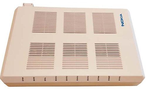 ONT 4 Ports Gbit, 4 Tel (indoor/outdoor)