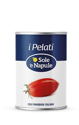 SOLE E NAPULE - Peeled Plum Tomatoes -  400g tin
