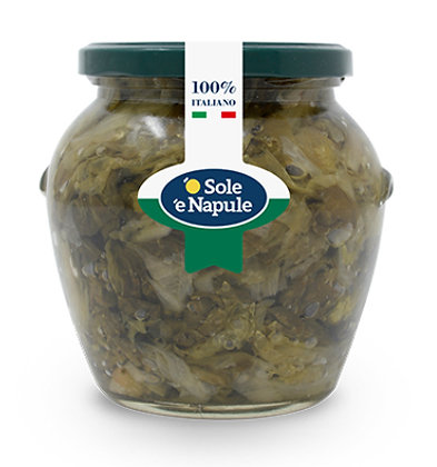 SOLE E NAPULE - Scarole Olive E Capperi - 1 x 520g
