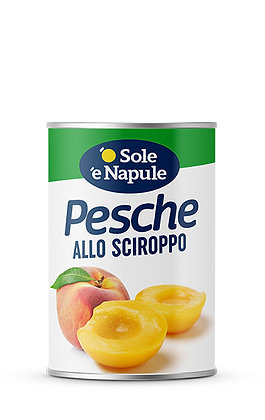 SOLE E NAPULE - Peach Halves in Syrup - 410g