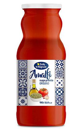 SOLE E NAPULE - Ready Sauce Tomato & Oregano AMALFI -  350g