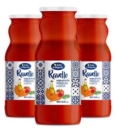 Ready Sauce 'Sugo Pronto' - Tomato & Pumpkin RAVELLO - 3 x 350g