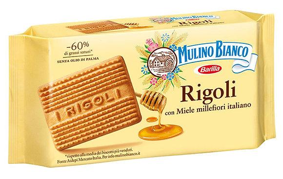 MULINO BIANCO - Rigoli con Miele Millefiori Italiano - 400gr