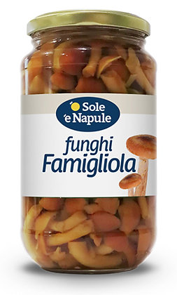 SOLE E NAPULE - Funghi chiodini - Baby Mushrooms - 540g