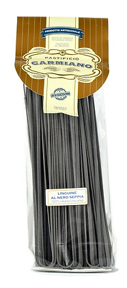 CARMIANO - Linguine al Nero di Seppia IGP - 500g