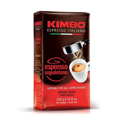 KIMBO - Espresso Napoletano - Ground Coffee - 250g