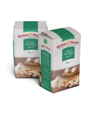 MOLINI PIZZUTI - Farina PER PIZZA Tipo 0 - 1kg