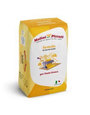 MOLINI PIZZUTI - Semola di Grano Duro PER PASTA - 10kg