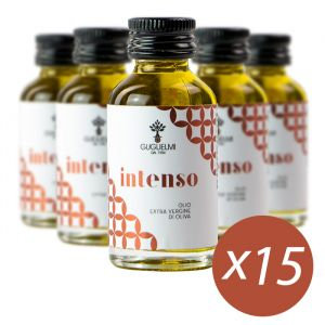 GUGLIELMI - INTENSO Extra Virgin olive Oil - 15x20ml