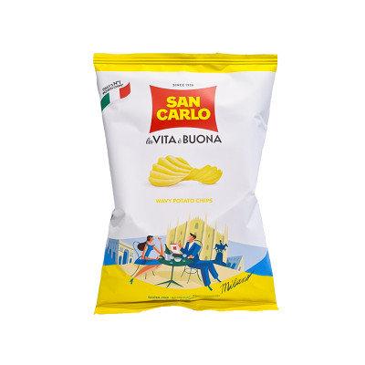 SAN CARLO - Crisps Rustica Wavy - 50gr