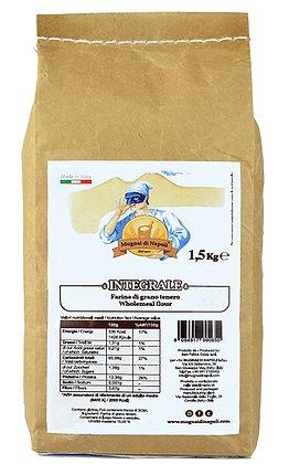 MUGNAI DI NAPOLI - 'Wholemeal' Flour - 1.5kg