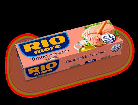 RIO MARE - Tuna in olive oil - 3x80gr