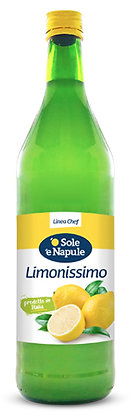 Lemonissimo - Lemon Juice in a glass bottle - 1ltr