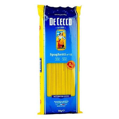 DE CECCO - Spaghetti n.12  - 1kg
