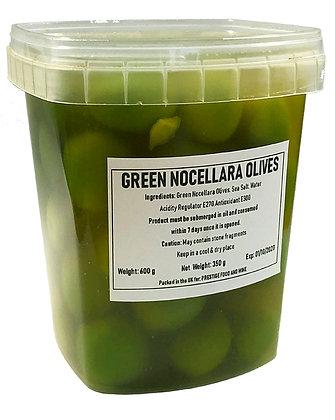 PRESTIGE - Green Nocellara Olives - 600g - drained weight 350g
