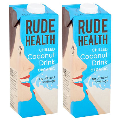 Rude Health 'Organic' Coconut Drink - 2 x 1ltr