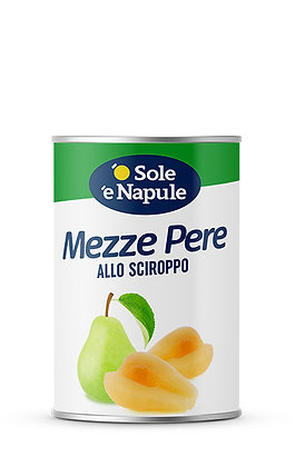 SOLE E NAPULE - Pear Halves in Syrup - 410g