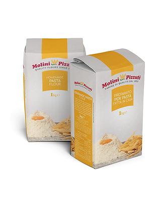 MOLINI PIZZUTI - Farina Preparato PER PASTA ( HOMEMADE PASTA FLOUR ) - 1kg