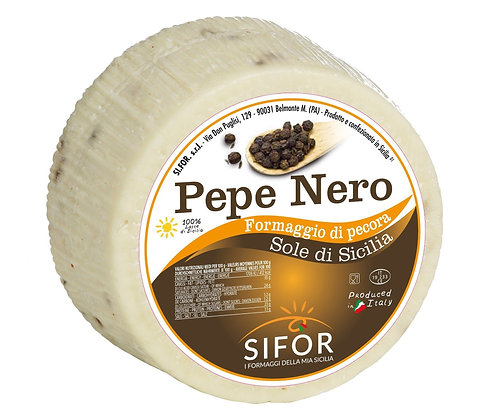 SIFOR -  Primosale with black peppercorns - 0.900gr