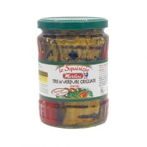 MERLINI - Trio Of Grilled Veg (Aubergines, Red Peppers And Courgettes) - 520 g