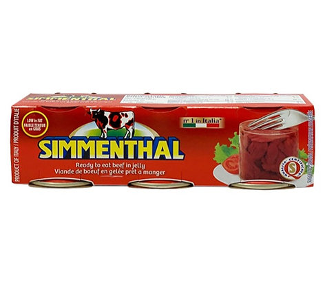 SIMMENTHAL - Meat in Jelly - 3x90gr