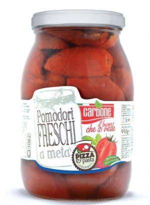 CARBONE - Tomato Halves in Sunflower Oil - 1062ml