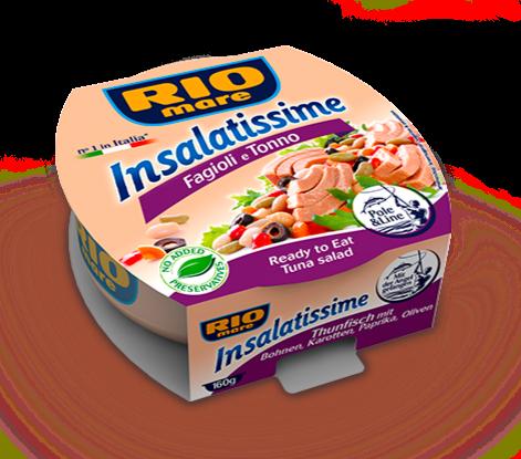 RIO MARE INSALATISSIME - Tuna & Bean Salad  - 160gr