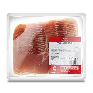 """COATI - Prosciutto Crudo Affettato Nazionale """"Sliced Parma Ham"""" - 250gr"""