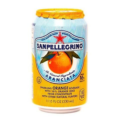 SAN PELLEGRINO - Aranciata Cans -  24 x 33cl