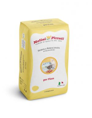 MOLINI PIZZUTI - SEMOLA Rimacinata di Grano Duro - 10kg