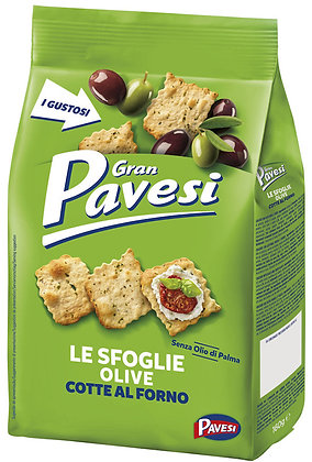 GRAN PAVESI - Sfoglie Olive Cotte al Forno - 150gr
