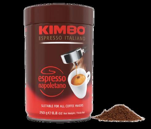 KIMBO - Espresso Napoletano - Ground Coffee - 250g Tin