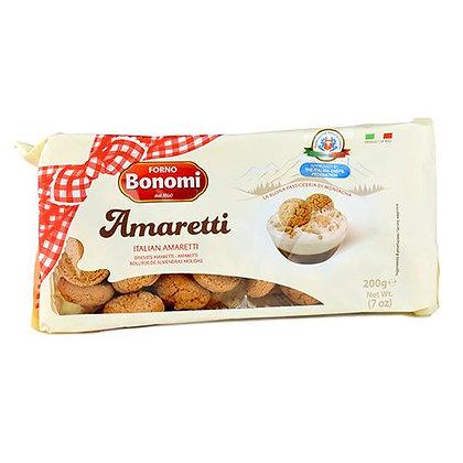 BONOMI - Amaretti Biscuits - 200g PACK