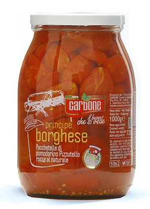 CARBONE - Piennolo a Pacchetelle *Principe Borghese* Halves in Water - 1062ml