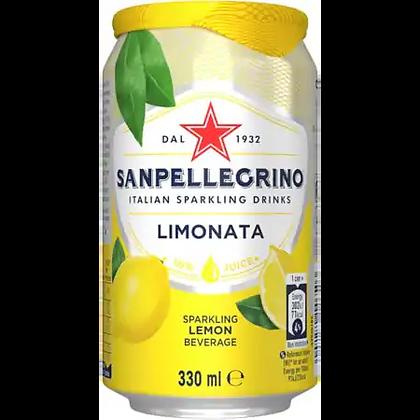 SAN PELLEGRINO -  Limonata Cans - 24 x 33cl