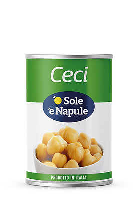 SOLE E NAPULE - Chick Peas - 400g tin