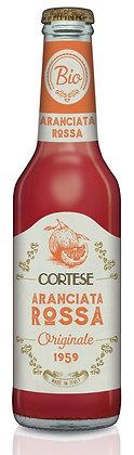 CORTESE - Aranciatta Rossa ORGANIC - 12 x 275ml
