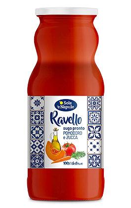 SOLE E NAPULE - Ready Sauce Tomato & Pumpkin RAVELLO - 350g