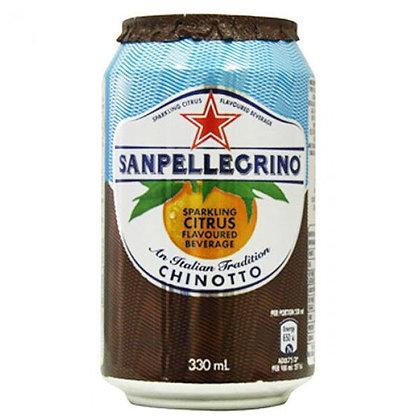 SAN PELLEGRINO - Chino Cans - 24 x 33cl