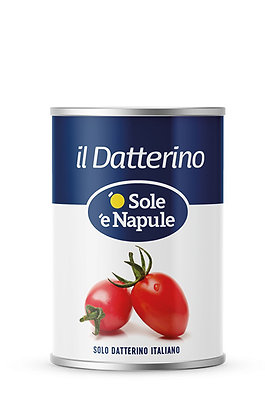 SOLE E NAPULE - Datterino (Baby Plum) Tomatoes - 400g tin