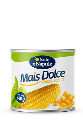 SOLE E NAPULE - Sweetcorn - 340g