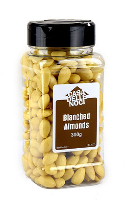 CASA DELLE NOCI - Blanched Almonds - Whole - 300g