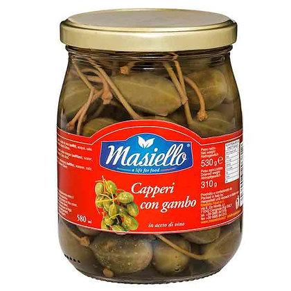 MASIELLO - Capers in Wine Vinegar - 530ml