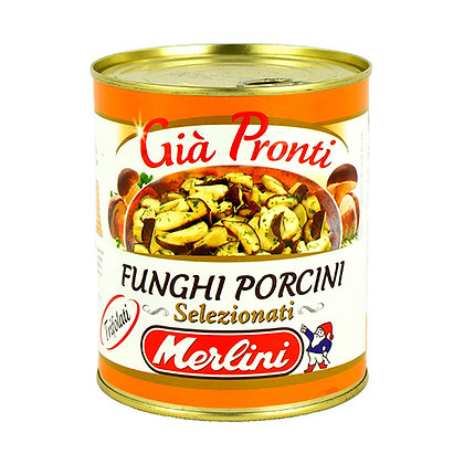 MERLINI - Sauteed Porcini Mushrooms - 800g